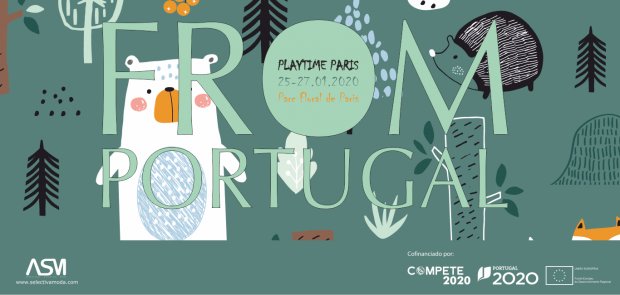 Portuguese entourage takes the children's fashion creativity and innovation to Playtime Paris